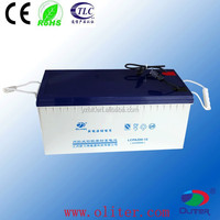 12v 200ah rechargeable battery gel vrla battery famous manufacturer