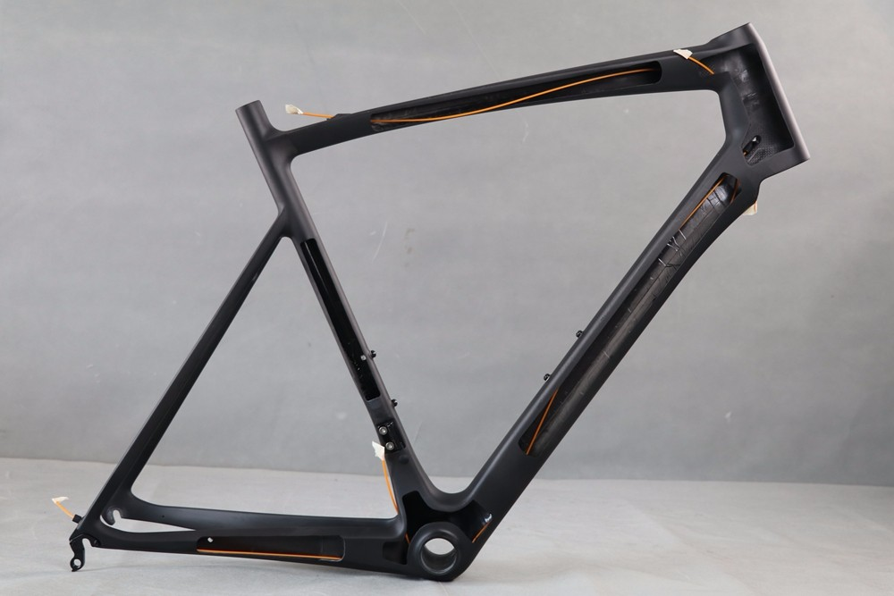 2017 AERO light carbon road bike frame with 1150g size 54cm
