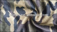 2014 new design of camouflage pattern cotton knitted fabirc