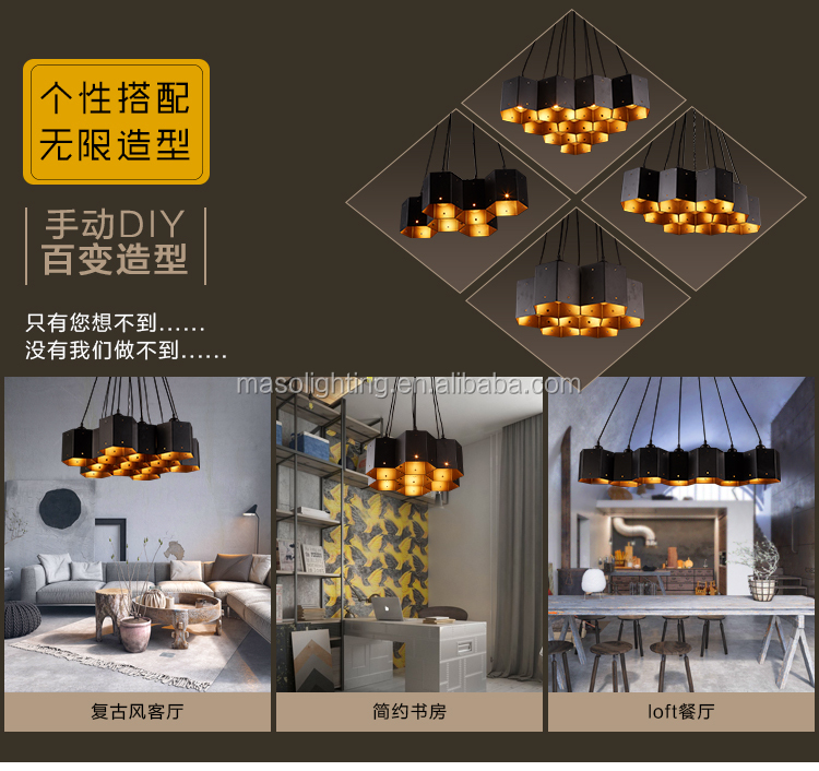 Maso Vintage Loft style Industrial pendant lamp for Coffee shop Resturant Bar Home Designed Iron Decorative Retro Pendant light