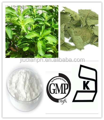 GMP Manufacturer Stevia Extract Steviosides Rebaudioside A 98%