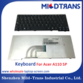 Laptop Keyboard for Acer A110 SP Spainish layout factory price