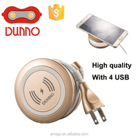 usb charger wholesale Portable multi port USB charger 5 USB port mobile phone charger 5V 6 A output