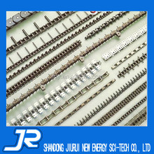 2015 China high quality professional stainless steel roller chain with attached