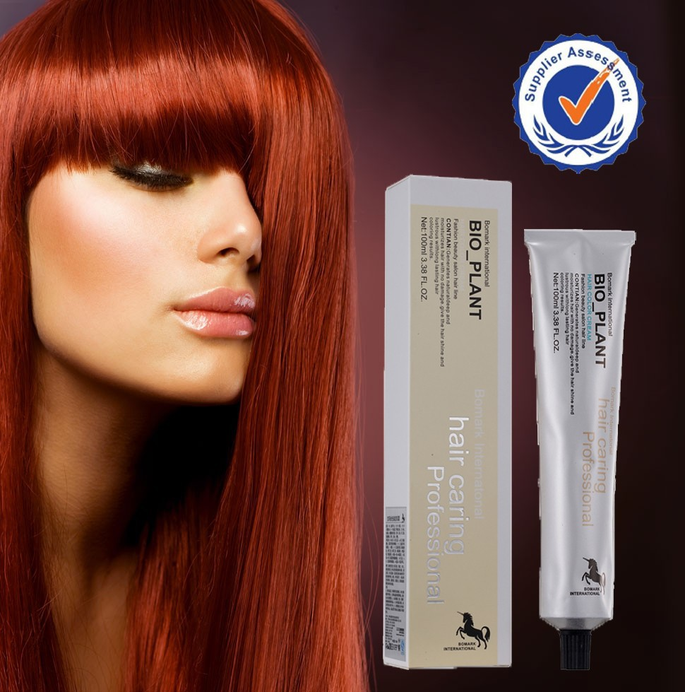 Free sample no stimulation best natural bright red hair dye