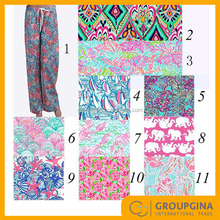 Monogram Spring Printed Lilly Pajamas Pants