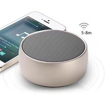 Metal Portable Mini Ultra Thin BS-01 Universal Audio Active Speakers