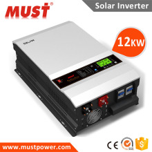 High quality inbuilt mppt charge controller 12kg inverter for solar panel