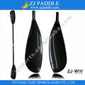 Oval Shaft kajak gebraucht Paddle with Two Piece Blades Aluminum alloy mold