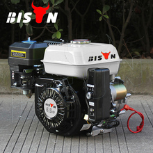 BISON CHINA Single Cylinder 200cc Air Cooled Gasoline Engine With Clutch