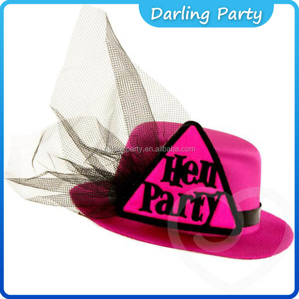 Hen Party Accessory Bride to be Mini Top Hats