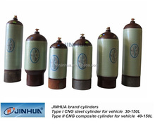 High Quality Seamless Steel CNG Gas Cylinders Type-II ,CNG Steel Tanks