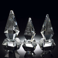 Inventive Crystal Tower Trophy Corporate Gifts