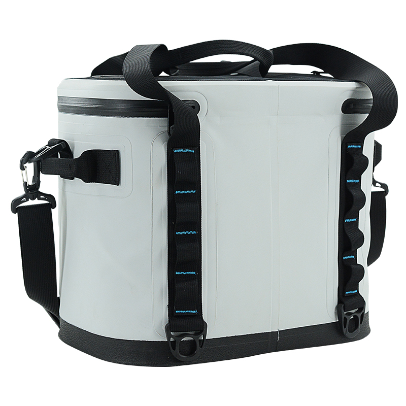 Leak-proof welded Cooler Waterproof Insulated Soft Sided Cooler Bag for Hiking, Camping, Sports, Picnics, Sea Fishing
