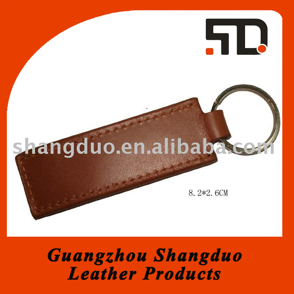 Chinese Factory Selling Well Handmade Leather Straps Key Ring