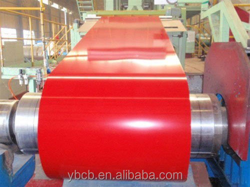 Yanbo High Quality China Color Coated PPGI for Building/ Steel Coil/ Roofing Sheet