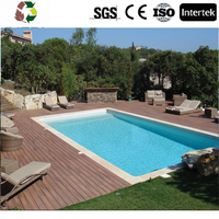 Brand new plastic imitation wood wpc decking Manufacturer Direct Factory cheap price wpc flooring