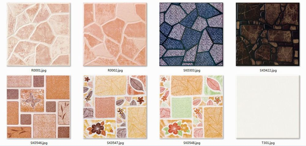 Living Room/Bed Room/Kitchen/Bathroom/Balcony Non Slip Floor Tiles 30x30CM