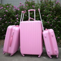 Hot Sell Pink Travel Trolley Hardcase