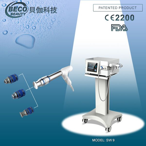 China leading beauty equipment manufacturer BECO High energy shockwave therapy machine