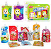 Yasonpack reusable food pouch bpa free for kids juice drink spout pouch