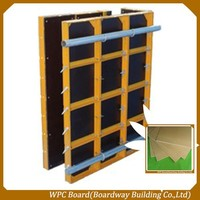 Excellent Reusable WPC Plastic Formwork For