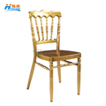 2015 wholesale strong gold folding aluminum napoleon chairs for sale