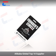 top 10 suppliers low cost printing machine plastic NFC business card