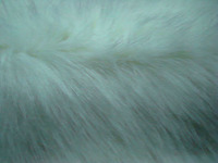 45 mm HI-PILE Fabric Aqua & White Color Color