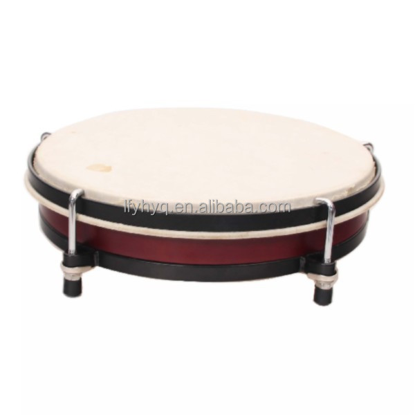 orff instruments/sheepskin floor drum/music instrument drum hoop