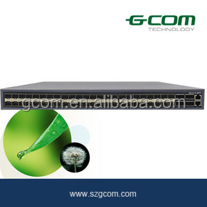 GCOM Switch 48 port + 4 port 10G SFP S6300 Series