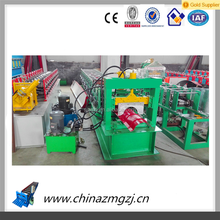 Galvanized New Metal Roof Ridge Cap Roll Forming Machine for sale