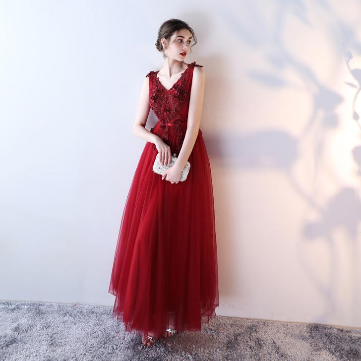 Long wedding Evening Dress Elegant