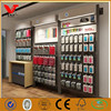 Mobile phone shop interior accessories wall display,cell phone store floorstanding display racks