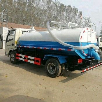 Sino HOWO 8000L toilet waste disposing truck sewage suction truck for sale