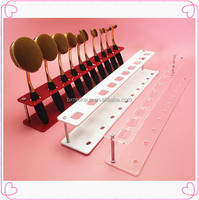 Beauty oval makeup brush holder/display best selling