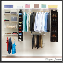 Metal Wall Shelving System/ Wardrobe Closet / Hanging Wire Shelves