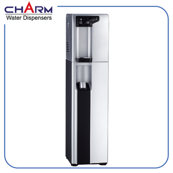 Floorstanding soda water purifier dispenser
