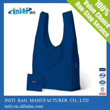 2014 cheap promotional foldable nylon shopping bag