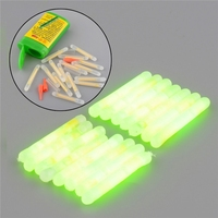 New 15X Fishing Fluorescent Lightstick Light Night Float Rod Lights Dark Glow Stick