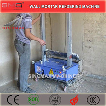 Factory Price Wholesale! MH Series Wall Mortar Automatic Rendering Machines, Plastering Machines for sale in China
