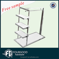 clothes shop shelf/clothing retail store furniture/display rack