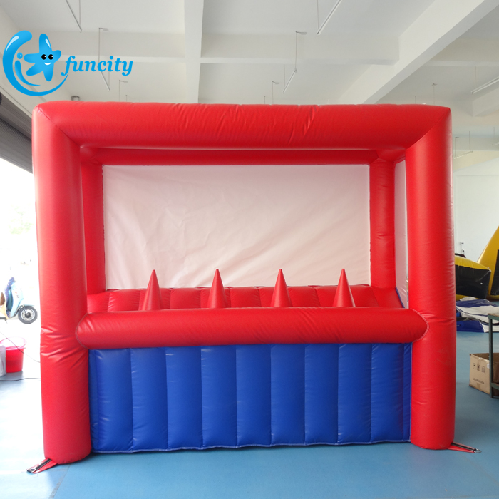 0.55MM PVC Tarpaulin Inflatable Archery Fighting Games With The Bow And Balls