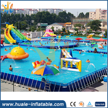 best selling PVC plastic blue color Inflatable Portable Adult Plastic Swimming Pool with low price