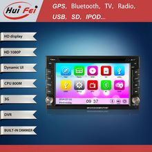 HuiFei Wifi Car Stereo support HD 1080P iPod iPhone Virtual Disc Powerful 10 Bands EQ Audio System 5.1