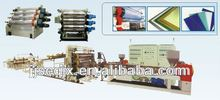PVC foam board production line , skinning foam board machine