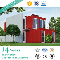 Individual customized high performance well designed prefabricated container house