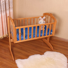 Wholesale wooden baby swing cradle/baby daycare beds/baby cot