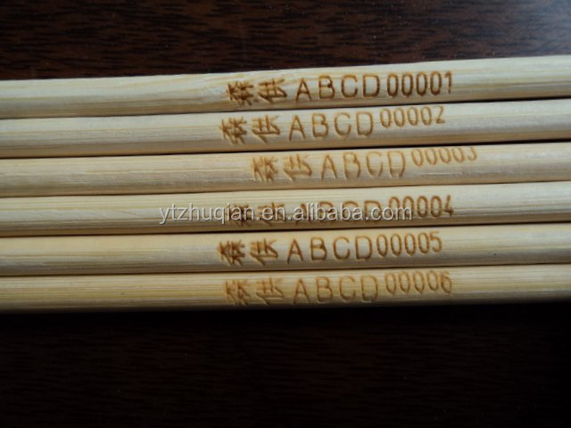 Tools Type rock candy stick bamboo stick bamboo skewer with custom logo