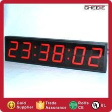 Digital Countdown Clocks Electronic LED Digital Clock with Milliseconds